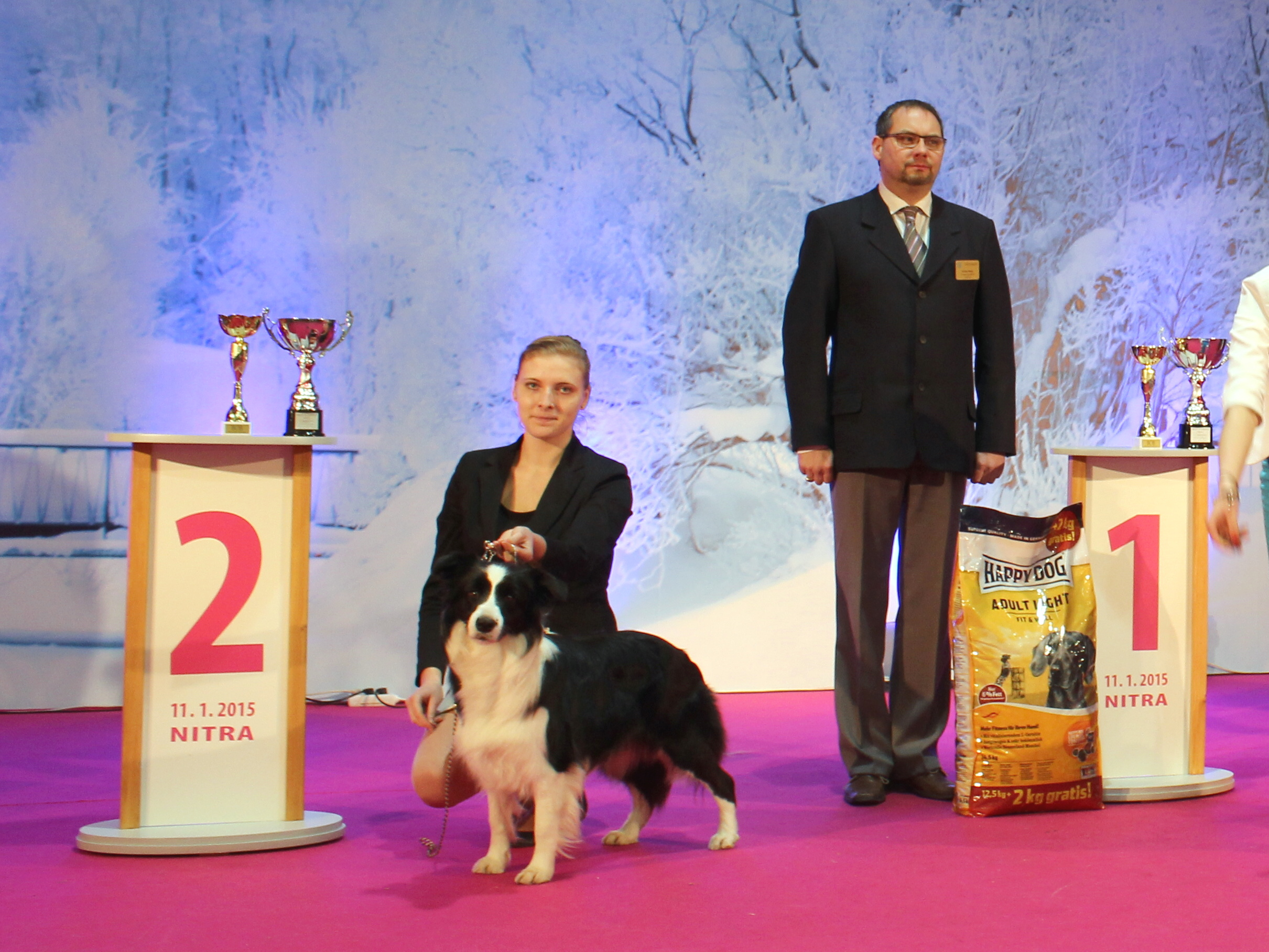 Jessie - CAC, CACIB, BOB, Best In Group 2.