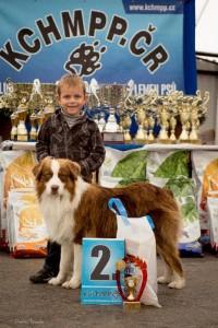 Adámek dítě a pes 2.místo